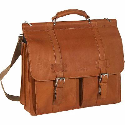 ケネス コール Kenneth Cole Reaction パソコンバッグ Mind Your Own Business - Colombian Leather Dowel Rod Laptop Case Tan