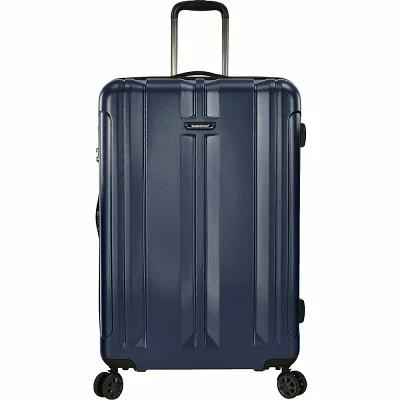 トラベラーズチョイス Traveler's Choice スーツケース・キャリーバッグ La Serena 30' Expandable Hardside Checked Spinner Luggage Navy