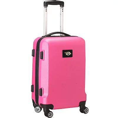 デンコスポーツラッゲージ Denco Sports Luggage スーツケース・キャリーバッグ NHL 20' Domestic Carry-On Pink Nashville Predators