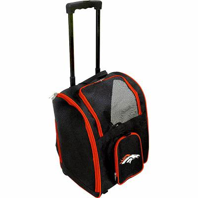 モジョ Mojo Licensing スーツケース・キャリーバッグ NFL Wheeled 16' Premium Pet Carrier Denver Broncos