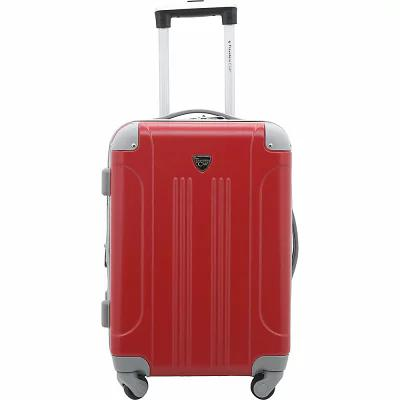 トラベラーズクラブラゲージ Travelers Club Luggage スーツケース・キャリーバッグ Modern 20' Hardside Expandable Carry-On Spinner True Red