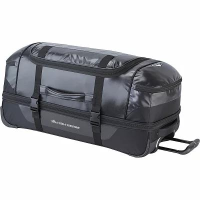 ハイシエラ High Sierra スーツケース・キャリーバッグ Kennesaw 30' Drop-Bottom Wheeled Duffel Black