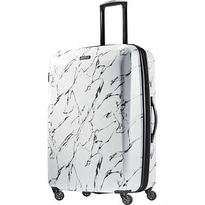アメリカンツーリスター American Tourister スーツケース・キャリーバッグ Moonlight 28' Expandable Hardside Checked Spinner Luggage Marble