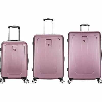 デュカプ Dukap スーツケース・キャリーバッグ Crypto 3 Piece Lightweight Hardside Spinner Luggage Set ROSE GOLD