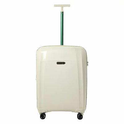 エピック EPIC スーツケース・キャリーバッグ Phantom BIO 26' Hardside Checked Spinner Luggage Natural White