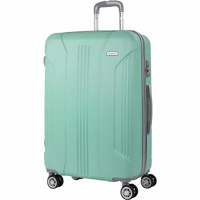 AMKA スーツケース・キャリーバッグ Sierra 26' Expandable Hardside Checked Spinner Luggage Mint