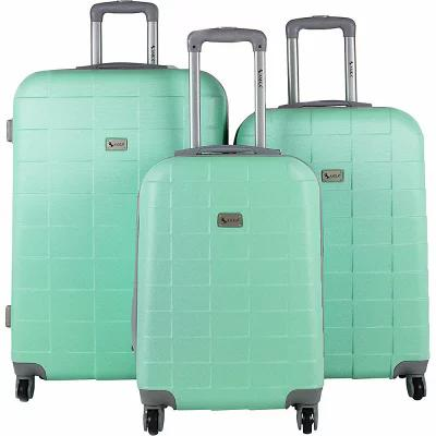 AMKA スーツケース・キャリーバッグ Palette 3 Piece Expandable Hardside Spinner Luggage Set Mint