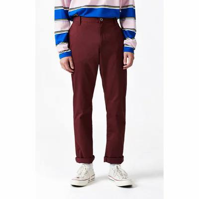 ルーカ RVCA チノパン Week-End Stretch Chino Pants BURGUNDY