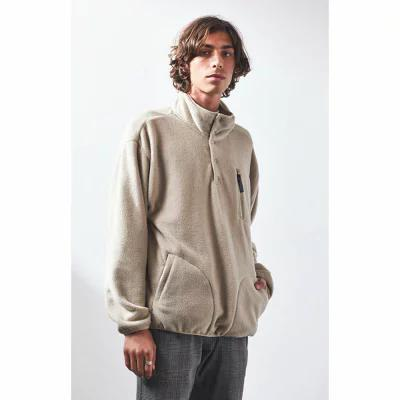 ブリクストン Brixton フリース Higgins Cream Polar Fleece Pullover CREAM