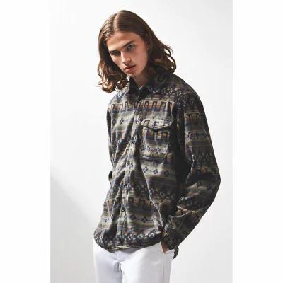 ビラボン Billabong フリース Furnace Fleece Printed Flannel Shirt OLIVE