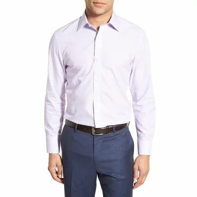 ボノボス BONOBOS シャツ Slim Fit Wrinkle Free Solid Dress Shirt Pale Lilac