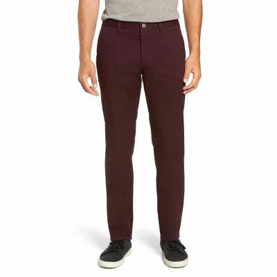 ボノボス BONOBOS チノパン Slim Fit Stretch Washed Chinos Damson Plum