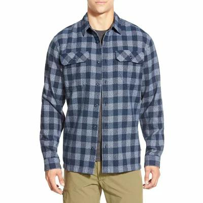 パタゴニア PATAGONIA シャツ 'Fjord' Regular Fit Organic Cotton Flannel Shirt Activist- Navy Blue