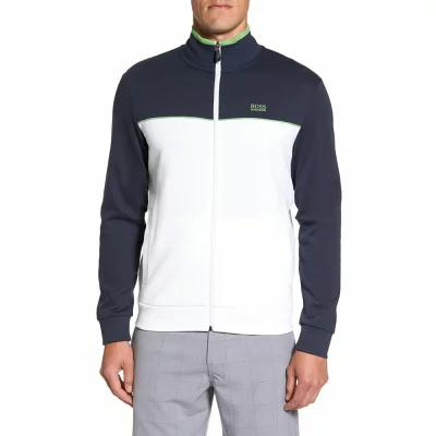 ヒューゴ ボス BOSS GREEN フリース Skaz Full Zip Fleece Jacket White