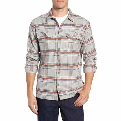 パタゴニア PATAGONIA シャツ 'Fjord' Regular Fit Organic Cotton Flannel Shirt Activist Feather Grey