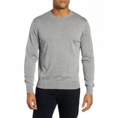 ピーター ミラー PETER MILLAR COLLECTION ニット・セーター Merino Wool & Silk Crewneck Sweater Grey