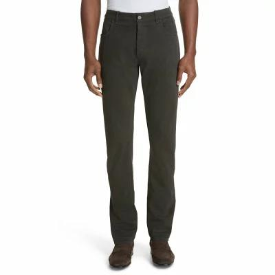 カナーリ CANALI その他ボトムス・パンツ Stretch Cotton Five-Pocket Trousers Dark Brown