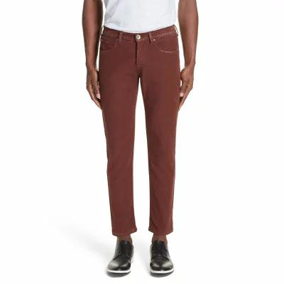 イレブンティ ELEVENTY スキニー・スリム Slim Fit Stretch Cotton Five Pocket Trousers Ochre