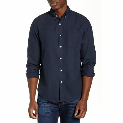 ジェイクルー J.CREW シャツ Slim Fit Neppy Twill Sport Shirt Navy Heather