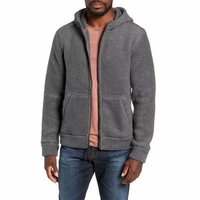 マイケル バスティアン MICHAEL BASTIAN パーカー Regular Fit Polartec Fleece Hoodie Steel Gray