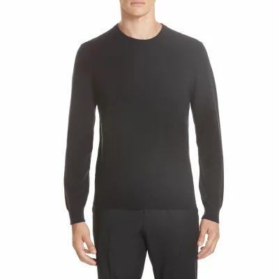 ジーゼニア Z ZEGNA ニット・セーター Cashmere Blend Crewneck Sweater Black