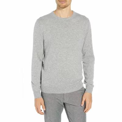 ジェイクルー J.CREW ニット・セーター Everyday Cashmere Regular Fit Crewneck Sweater Heather Grey