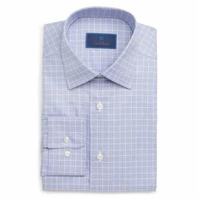 デビッドドナヒュー DAVID DONAHUE シャツ Regular Fit Plaid Dress Shirt Lily