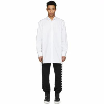 D BY D シャツ White Side String Shirt