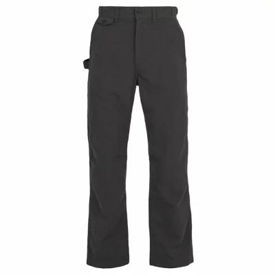 スノーピーク Snow Peak その他ボトムス・パンツ Takibi cotton-blend ripstop trousers Black