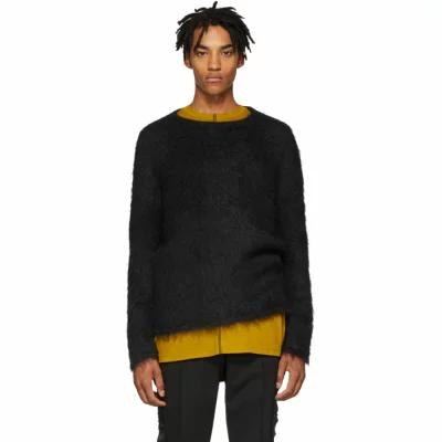 アリクス 1017 Alyx 9SM ニット・セーター Black Mohair Briar Sweater