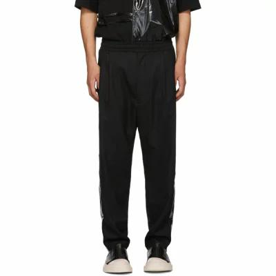 D BY D その他ボトムス・パンツ Black Glossy Stripe Trousers