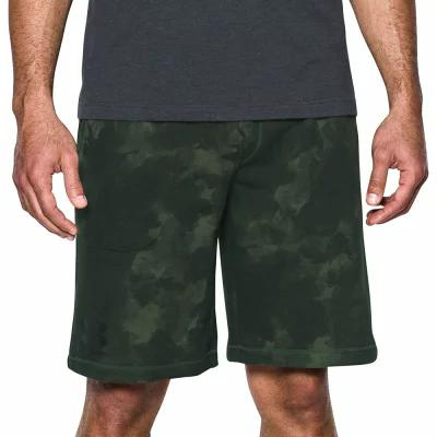 アンダーアーマー Under Armour ショートパンツ Sportstyle French Terry Printed Shorts Rifle Green
