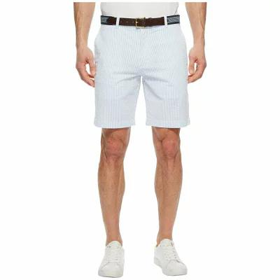 ヴィニヤードヴァインズ Vineyard Vines ショートパンツ 9 Seersucker Stripe Breaker Short Ocean Breeze