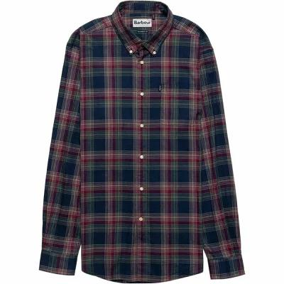 バーブァー Barbour シャツ Endsleigh Highland Check Button - Down Shirts Navy
