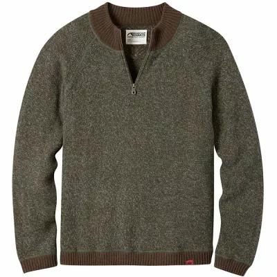 マウンテンカーキス Mountain Khakis ニット・セーター Crafted 1/4 - Zip Sweaters Coffee
