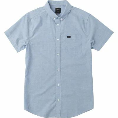 ルーカ RVCA 半袖シャツ That'll Do Stretch Short - Sleeve Shirts Bright Blue
