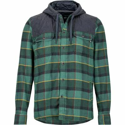 マーモット Marmot シャツ Silos Heavyweight Flannels Mallard Green/Dark Steel