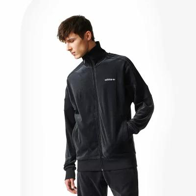 アディダス adidas Originals ジャージ Challenger Velour Track Top Black
