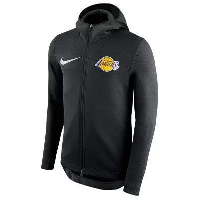 ナイキ Nike パーカー NBA Player Showtime Therma Full-Zip Hoodie NBA Los Angeles Lakers Black