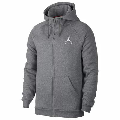 ナイキ ジョーダン Jordan フリース Jumpman Air Fleece Full-Zip Hoodie Carbon Heather/White