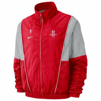 【送料0円】 ナイキ Nike Rockets Houston ジャージ NBA Throwback NBA Track Jacket NBA Houston Rockets Red, トラックアート歌麿:6a30e624 --- supercanaltv.zonalivresh.dominiotemporario.com