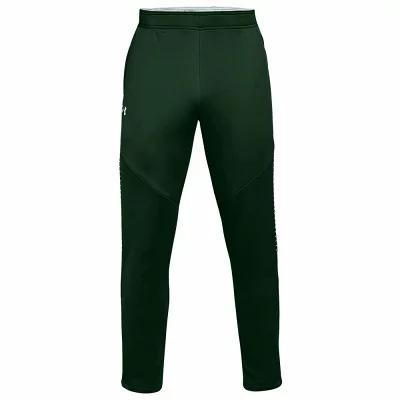 アンダーアーマー Under Armour スウェット・ジャージ Team Qualifier Hybrid Warm-Up Pants Forest Green/White
