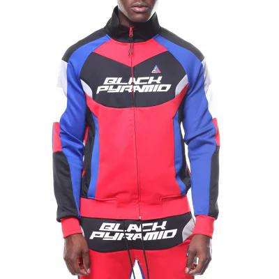 ブラックピラミッド Black Pyramid ジャージ bp racing track jacket Red