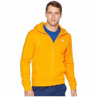 ナイキ Nike パーカー Club Fleece Full-Zip Hoodie Orange Peel/Orange Peel/White