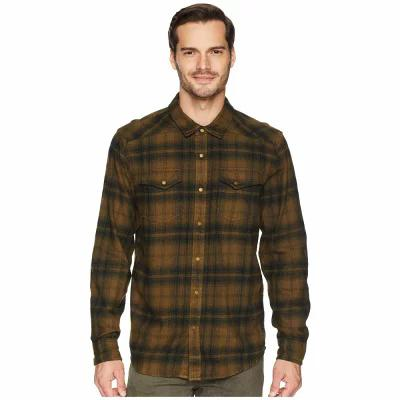 プラーナ Prana シャツ Horizon Long Sleeve Flannel Shirt Cargo Green