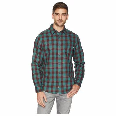 マーモット Marmot シャツ Bodega Lightweight Flannel Long Sleeve Mallard Green
