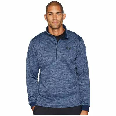 アンダーアーマー Under Armour フリース Armour Fleece 1/2 Zip Academy/Black