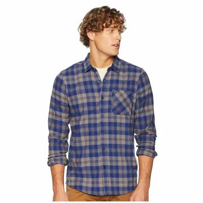 ボルコム Volcom シャツ Caden Plaid Long Sleeve Matured Blue