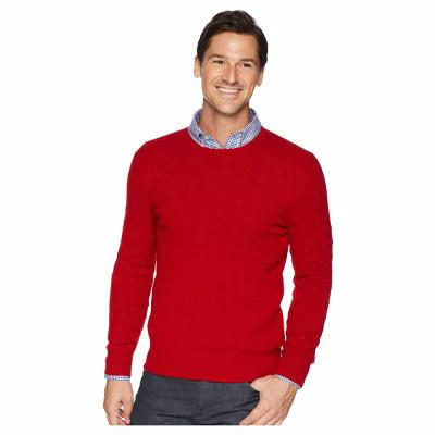 ラルフ ローレン Polo Ralph Lauren ニット・セーター Cashmere Cable Crew Neck Carriage Red