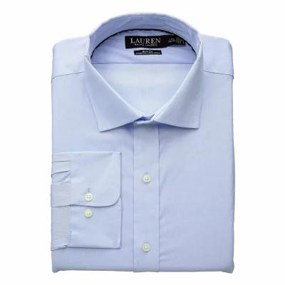 ラルフ ローレン LAUREN Ralph Lauren シャツ Non-Iron Slim Fit Stretch Dress Shirt Blue